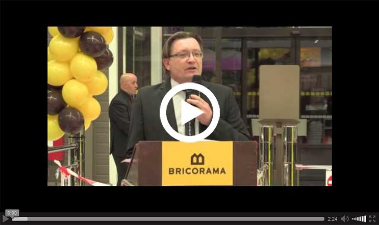 Inauguration du Bricorama de Rambouillet